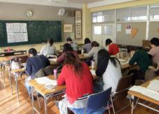 今年も大船小学校で美文字講座を担当します/鎌倉市長谷の書道教室