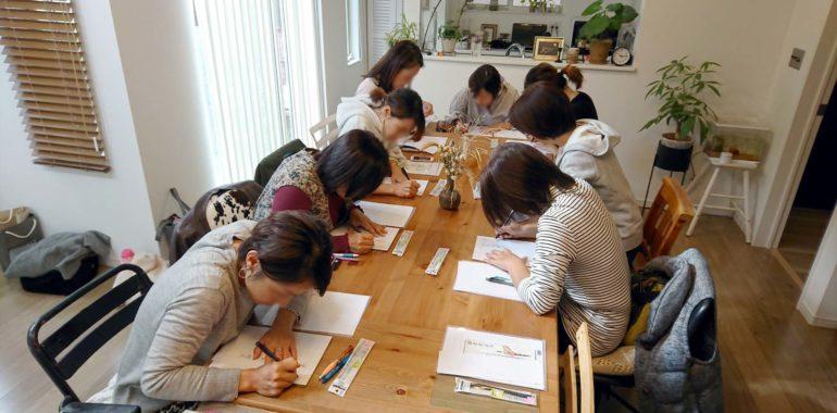 茅ヶ崎0467で美文字講座を開催しました/鎌倉市長谷の書道教室