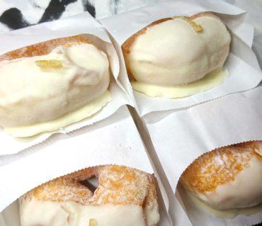 ミサキドーナツのレモンクリームチーズ/鎌倉市長谷の書道教室