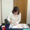 昇格試験、締め切り直前の最後の追い込み中/鎌倉市長谷の書道教室