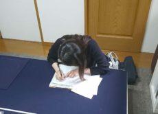 シフト制のお仕事でも通いやすい書道教室/鎌倉市長谷の書道教室